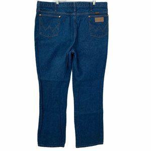 Wrangler Jeans Men's Dark Wash Vintage 42x32 963de